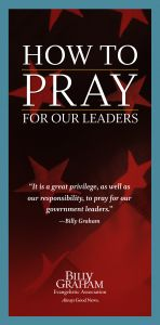 How to Pray for Our Leaders - Pack of 25