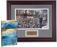 Limited Edition Commemorative Print: Billy Graham in London