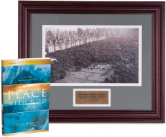 Limited Edition Commemorative Print: Billy Graham in NY
