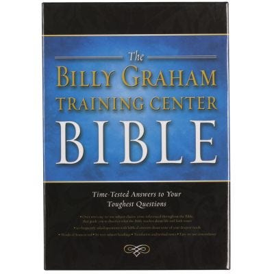 The Billy Graham Training Center Bible - NKJV (Bonded Leather)