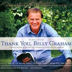 Thank You Billy Graham DVD/CD