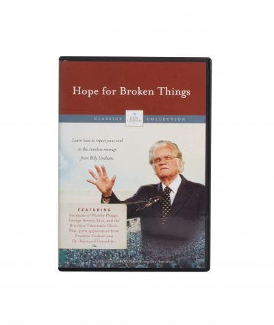 Hope for Broken Things