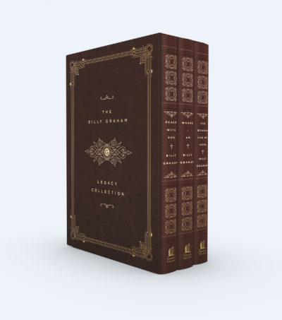 Billy Graham Legacy Collection Book Set