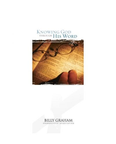 Knowing God Through His Word - 25 pack