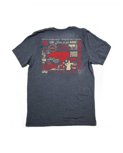 "Billy Graham Library North Carolina ""Home"" T-shirt"