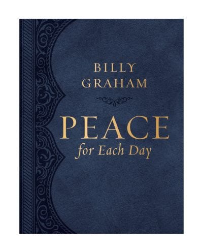 Peace for Each Day - Large Print