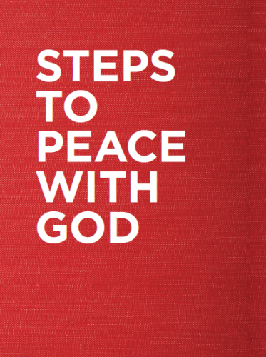 Steps to Peace with God - Pack of 25 (2017 Red Version)