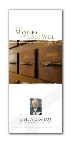 The Mystery of God's Will - Packs of 15