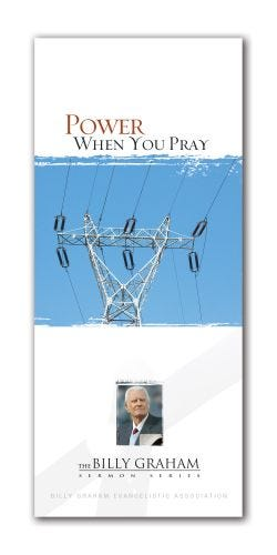 Power When You Pray BG Sermon Series - Pack of 15