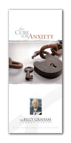 The Cure for Anxiety - BG Sermon Series - Pack of 25