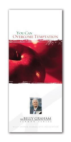 You Can Overcome Temptation - Packs of 25