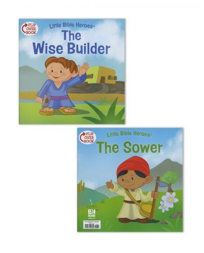 The Wise Builder/The Sower Flip-Over Book