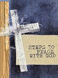 Steps to Peace With God - Pack of 25 (Purple)