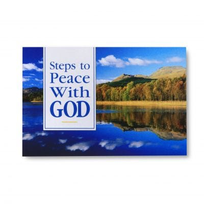 Steps to Peace with God - Pack of 25 (Scenic)